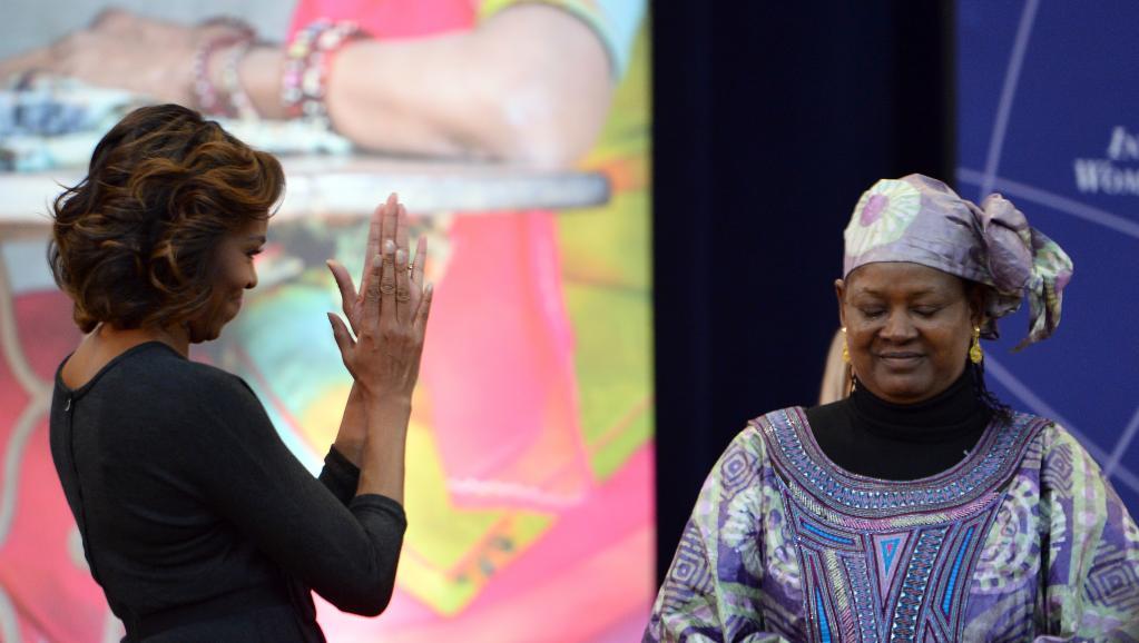 Fatimata Touré du Mali récompensée par Michelle Obama