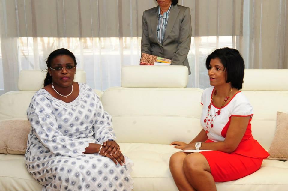 IMAGE POLITIQUE - Mareme Faye Sall, le Cap-Vert lui va si bien