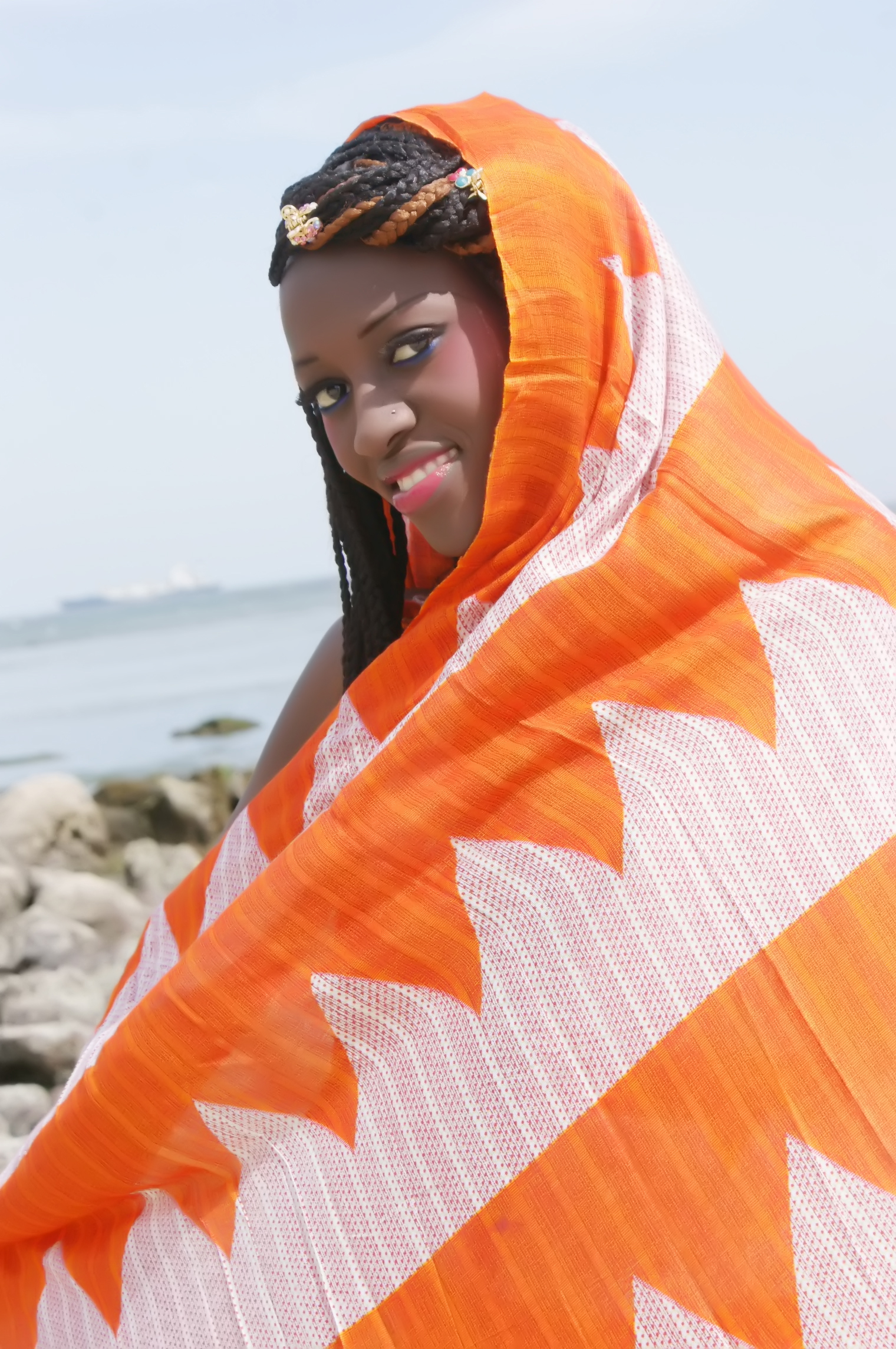 4-Nabou Dione, assistante de direction, elle est de Ouakam (Dakar)