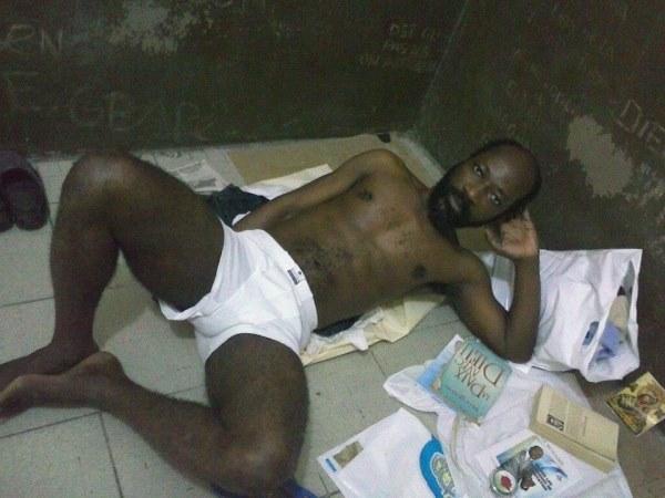 Voici les dernières images de Blé Goudé en prison