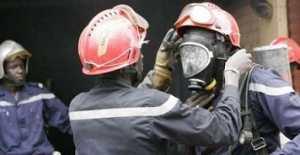 Dernière minute : Une usine de friperie de Diourbel prend feu