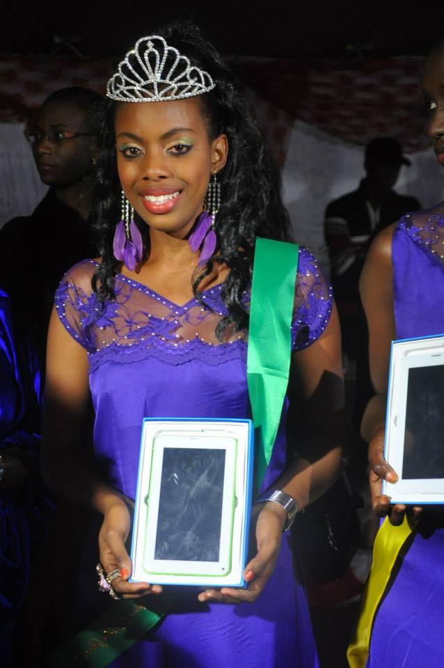 Miss Africité 2014 : Ndeye Néné Thioye remporte la couronne et se prépare pour le Canada !