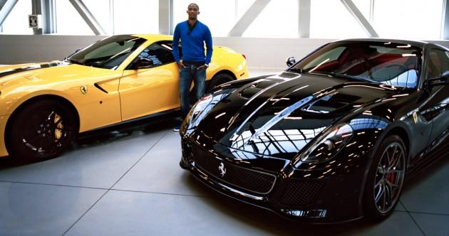 Monsieur Samuel Eto vous présente son garage à  4 millions d'euros
