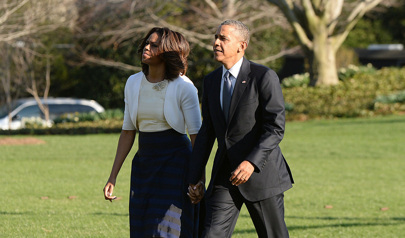 BARACK OBAMA SAUVE SA FEMME D'UN ACCIDENT ! (PHOTO)