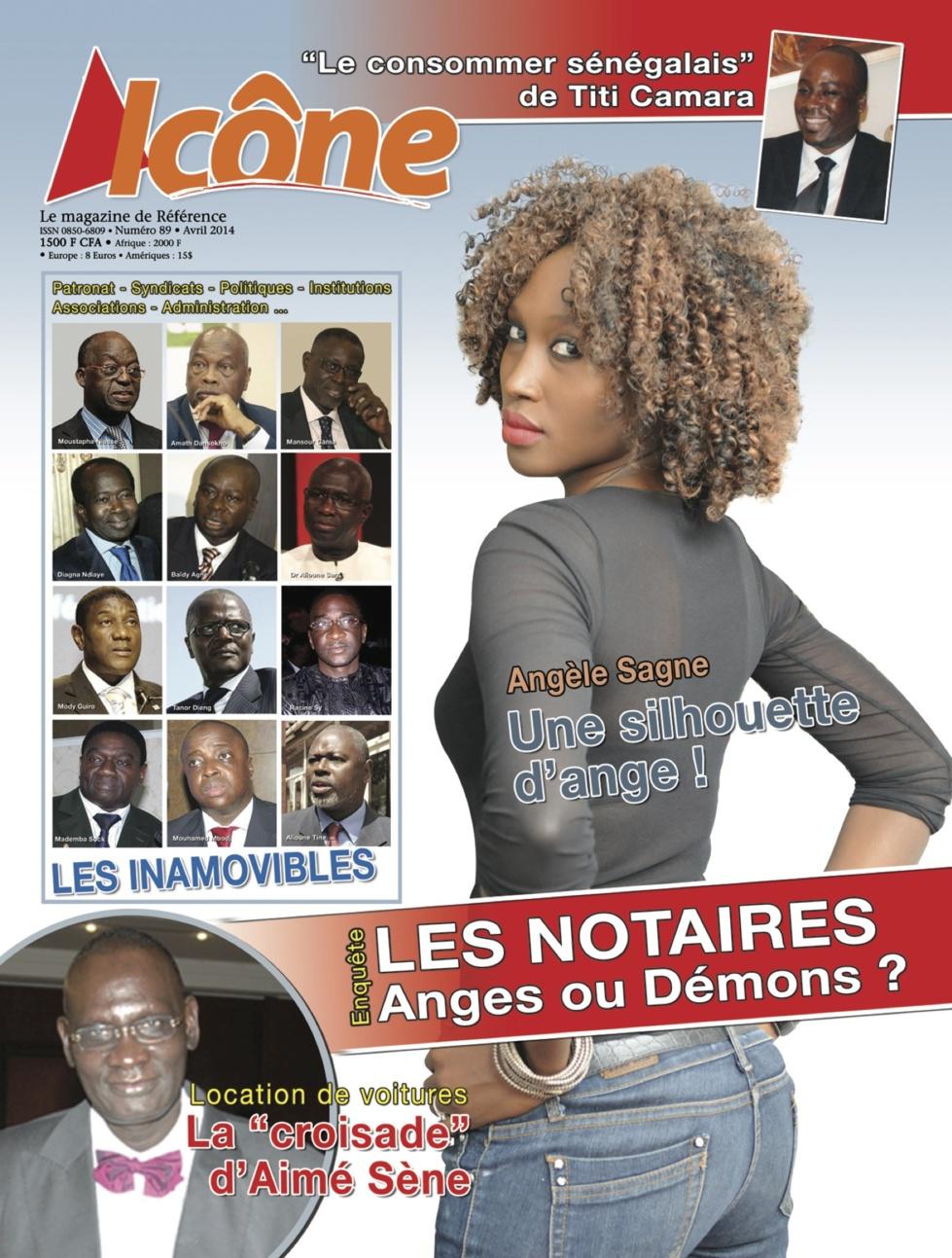 Voici la couverture de votre magazine ICONE n°89 ( Avril)