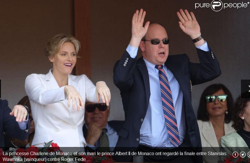 Voici le prince de Monaco et sa femme, l'homme qui dîne souvent avec le milliardaire Diana Ndiaye
