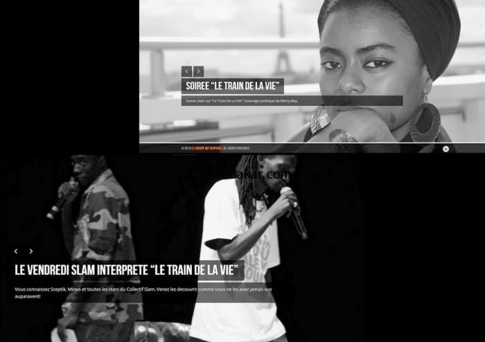 Merry Beye présentera « le train de la vie » le 25 Avril avec le collectif Vendredi Slam