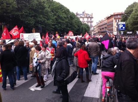 Un défilé non unitaire, pour dénoncer la politique d'austérité menée par le gouvernement