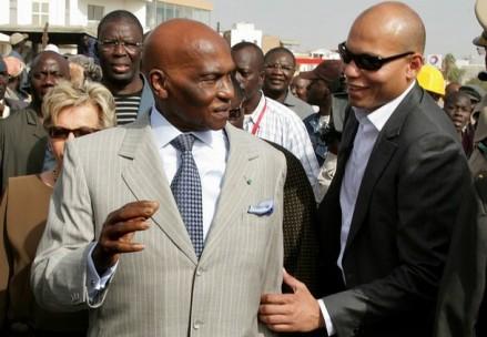 """Visite Chez Aida Ndiongue: Wade """"oublie""""  son fils pour l'instant"""
