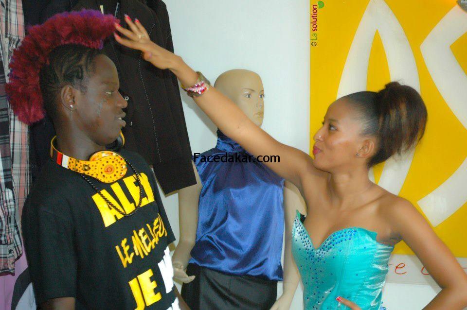 Alex, le danseur sénégalais