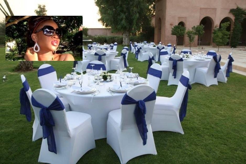 Bébé Basse, la fille de Ben Basse fête aujourd'hui sa reception de mariage