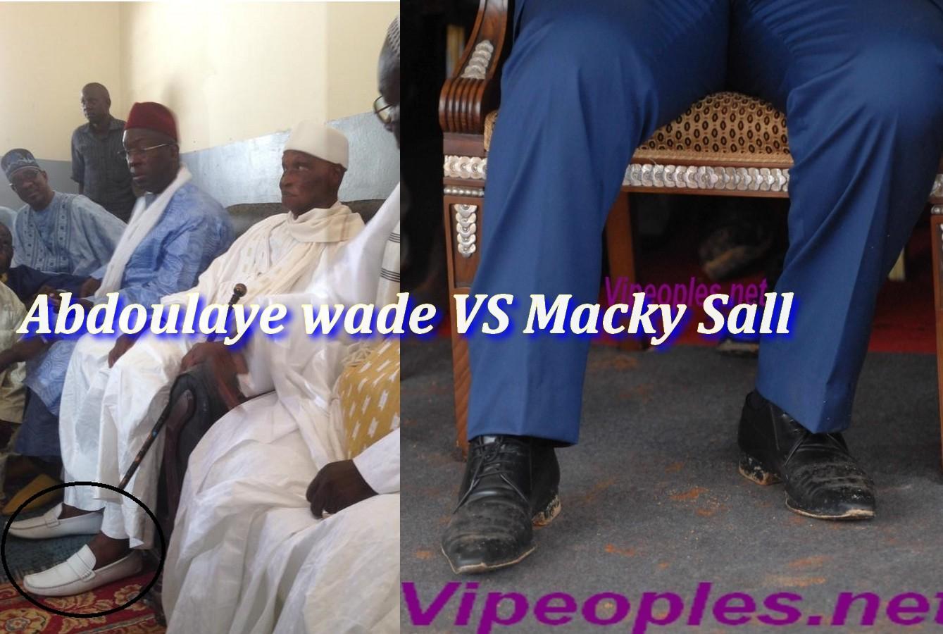 Les mocassins de Me Abdoulaye Wade VS les chaussures de Macky Sall, la guerre continue même dans l'habillement