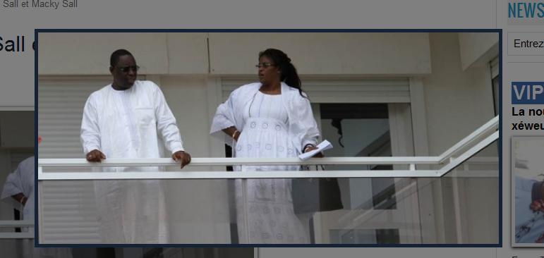 Sénégal - Ça sent le Roméo et Juliette au palais !