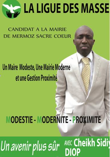 CRITIQUE AFFICHE ÉLECTORALE : Comment Chekh Sidiya Diop a raté son affiche politique