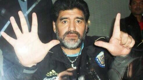 Arrêt sur image: Diego Maradona se moque des Brésiliens