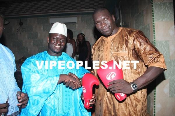 Baye Ndiaye en toute complicité avec Malick Niang