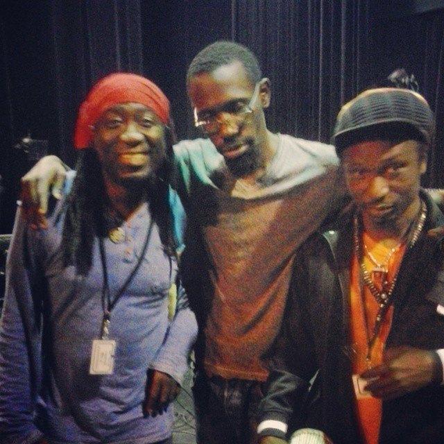 Bouba Kiroukou au concert de Elage Diouf à Montréal