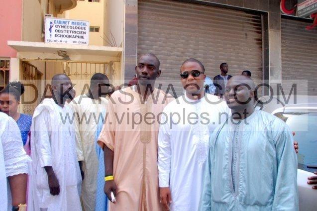 Baptéme: Aziz Ndiaye donne le nom de son fils à Elimane Lam