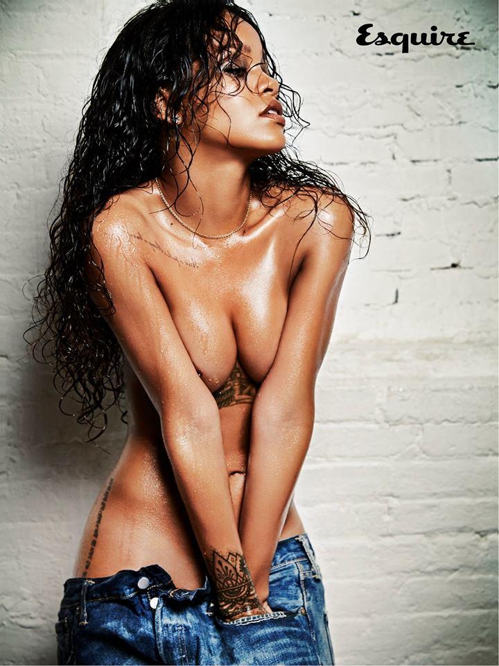 Rihanna en couverture du magazine Esquire: Riri se dévoile!