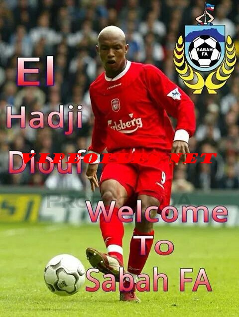 Premier match: ElHadj Diouf capitaine signe son premier but et passeur décisif du second but avec son club Sabah FA