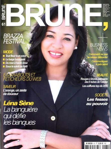 Léna Sène se confie à Brune Magazine : « Les entreprises n'ont pas grand-chose à attendre des banques »