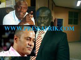 Gaston Mbengue, Luc Nicolai et Serigne Modou Niang deviennent les présidents d'Honneurs de l'association des promoteurs lors de leur conférence de presse