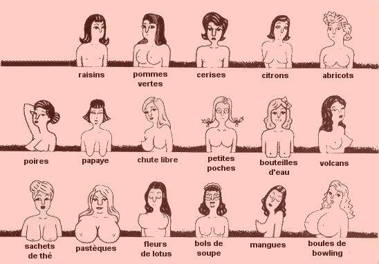 Vous ne devinerez jamais ce que la forme de vos seins peut dire de vous... Vous serez surprise !