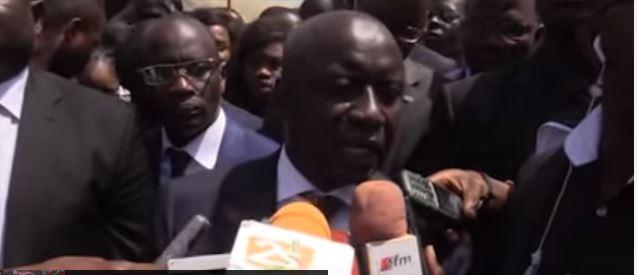 Vidéo - Réaction d'Idrissa Seck apres défilé 04 avril 2016 à Thies