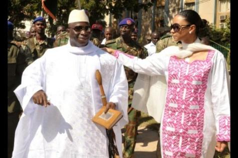Gambie - Jammeh fait évacuer nuitamment sa famille