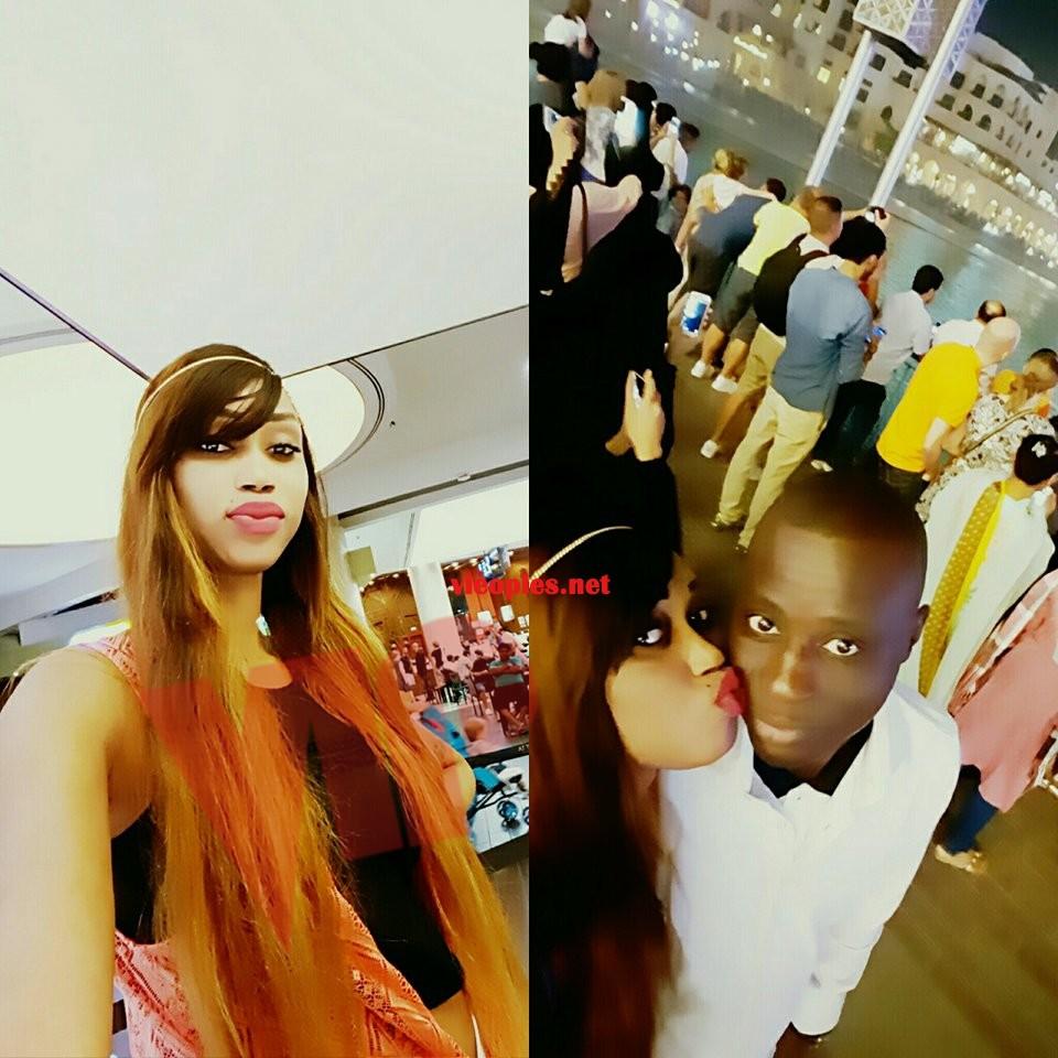 La vidéo girl Khadija Choupi en lune de miel avec son Elou Dramé.