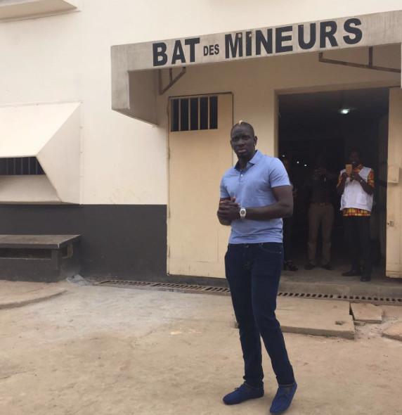 Mamadou Sakho à la prison d'Abidjan