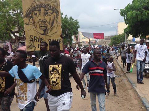 Photos: Les fassois trés confiants regagnent le stade Démba Diop