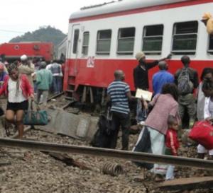 Cameroun: 55 morts et près de 600 blessés dans le déraillement d'un train
