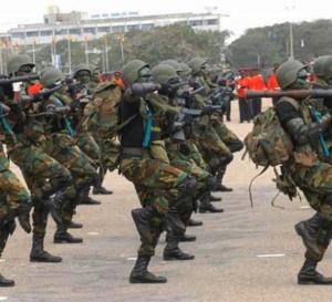 Gambie : 205 militaires ghanéens et du matériel militaire en Gambie pour appuyer le Nigeria et le Sénégal