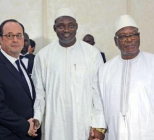François Hollande félicite Adama Barrow et encourage la CEDEAO