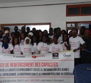 Liberté d'expression: « Les jeunes doivent interpeller les autorités et avoir leur mot à dire dans le fonctionnement de leur cité » selon Fatou Diagne Senghor de L'ONG Article 19