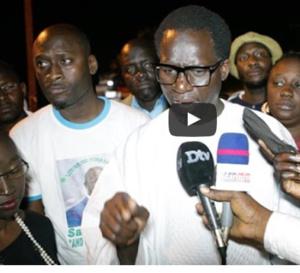 Saint-Louis: L'opposition dénonce l'arrestation des partisans de Khalifa Sall (vidéo)