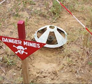 Ziguinchor: L'armée fait exploser une mine