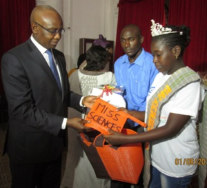 Concours national: Diary Sow, Miss sciences