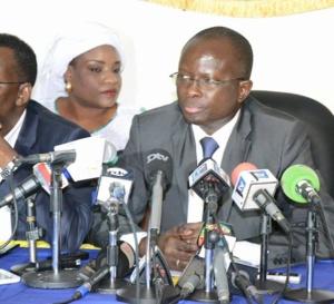 """Modou Diagne Fada quitte """"Manko Taxawou Sénégal""""et lance son mouvement """"Manko Yessal Senegal""""."""