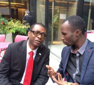 Le Griot des Vip, Alassane Mbaye chante l'informaticien Dame Dieng, fondateur de leral.net