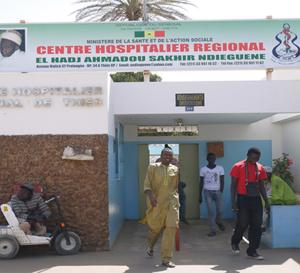 Thiès : Un malade, victime de négligence, meurt devant l'hôpital