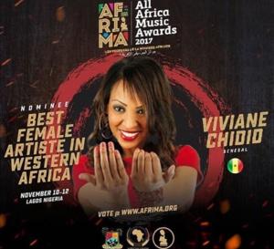 Viviane Ndour nominée à l'AFRIMA 2017