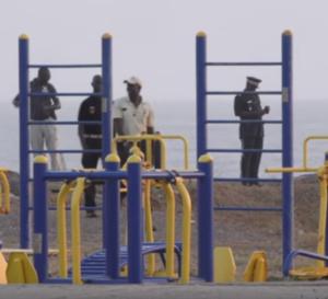 Vidéo: Les forces de l'ordre ont procédé à l'explosion d'un obus sur la Corniche Ouest à Dakar – Regardez.