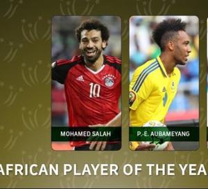 Ballon d'Or africain 2017: La CAF dévoile les trois finalistes !