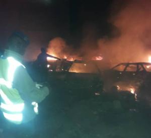 Vidéo: Almadies: l'unique voiture épargnée par l'incendie