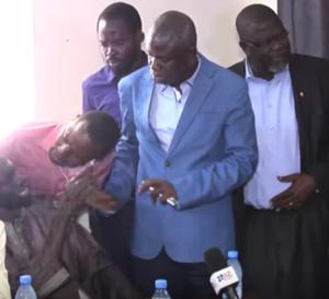 Vidéo – Passe d'armes entre Amadou Tidiane Wone et Ansoumana Dione