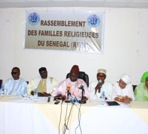 Le Rassemblement des familles religieuses du Sénégal face à la presse... Sergine Bara Mbacké Doly et Cie se prononcent sur la situation du pays...