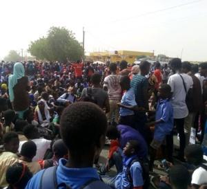 Mort de Fallou Sène : Tous les étudiants du Sénégal ont marché aujourd'hui