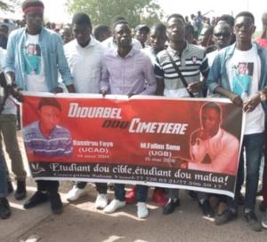 Mort de Fallou Sène: les étudiants du Sénégal battent le macadam et...